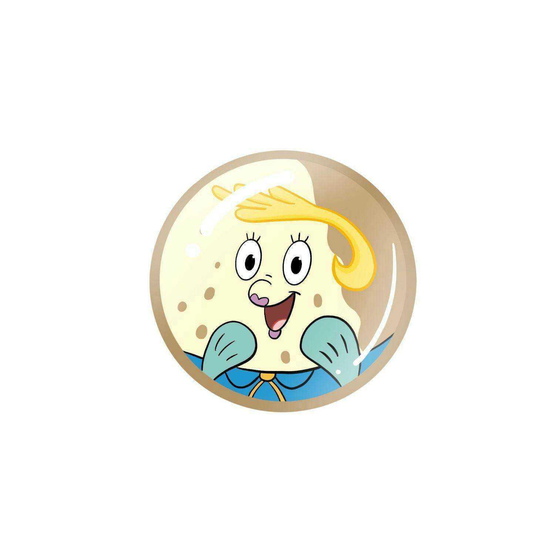超级好看的派大星,海绵宝宝卡通圆形图标